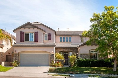 San Diego Single Family Home For Sale: 16385 Fox Valley Dr