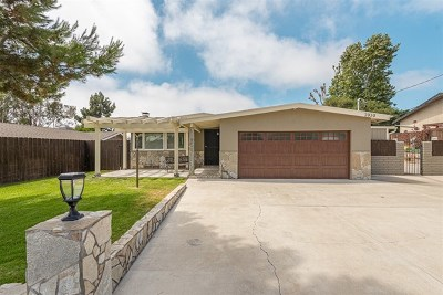 Carlsbad Single Family Home For Sale: 2030 Gayle Way