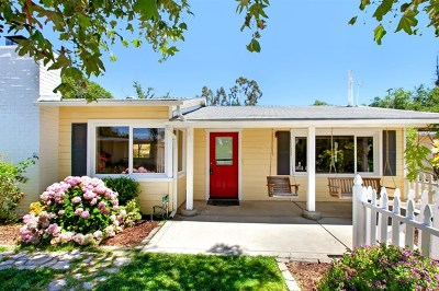 Fallbrook Single Family Home For Sale: 1734 E. Mission Rd
