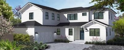 San Diego Single Family Home For Sale: 4501 Rhode Island St
