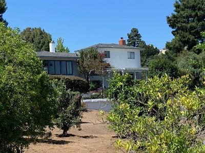 La Mesa Single Family Home For Sale: 10260 Vista De La Cruz