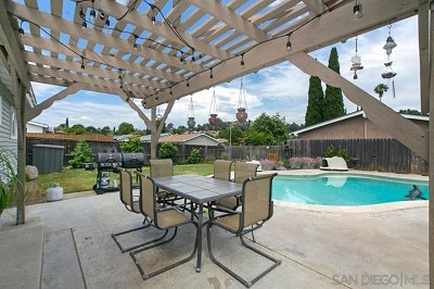 Poway Single Family Home For Sale: 13369 Silver Lake Drive