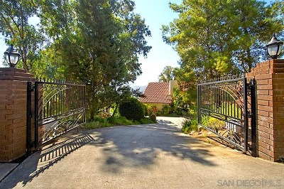 El Cajon Single Family Home For Sale: 602 Singing Vista Court