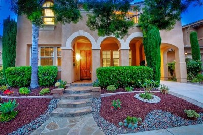 San Diego Single Family Home For Sale: 7654 Heatherly Ln