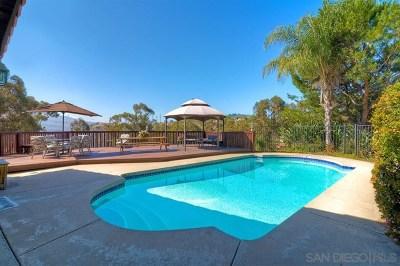 El Cajon Single Family Home For Sale: 2507 Singing Vista Way