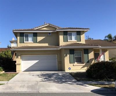 Chula Vista Single Family Home For Sale: 1722 Bridlevale Rd