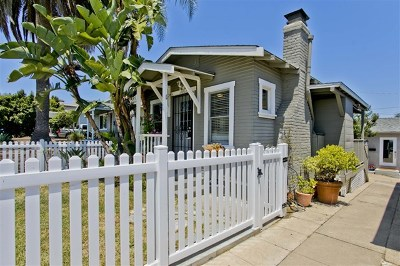 San Diego Single Family Home For Sale: 3663 Florida St