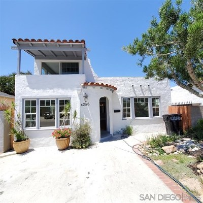 San Diego Single Family Home For Sale: 4256 Menlo Ave