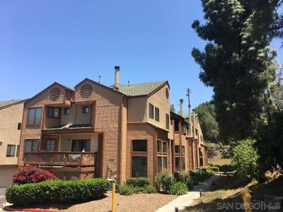 San Diego Condo/Townhouse For Sale: 9327 Lake Murray Blvd #B