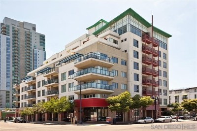 San Diego Condo/Townhouse For Sale: 875 G Street #503