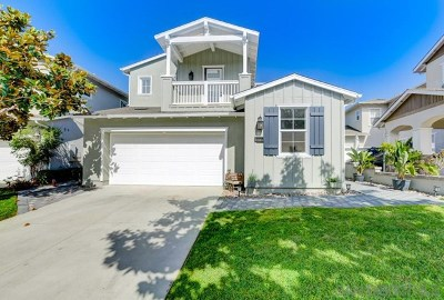 Carlsbad Single Family Home For Sale: 606 Seaward Ave