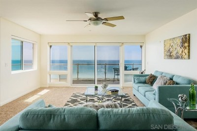 Imperial Beach Condo/Townhouse For Sale: 1456 Seacoast #3A