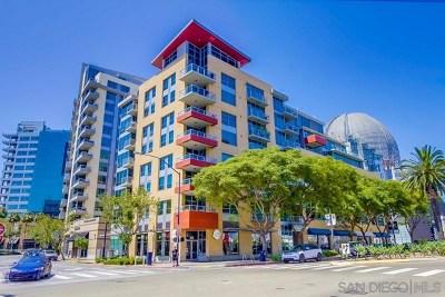 San Diego Condo/Townhouse For Sale: 206 Park Boulevard #211