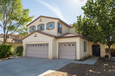 Murrieta Single Family Home For Sale: 37729 Sprucewood Lane