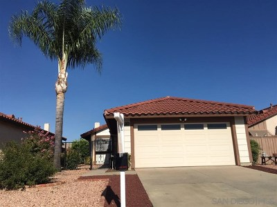 Menifee Single Family Home For Sale: 27114 Rockwood St.