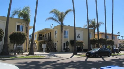 Imperial Beach Condo/Townhouse For Sale: 239 Ebony #1