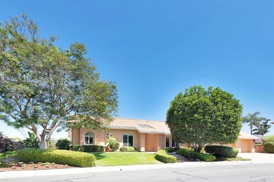 Vista Single Family Home For Sale: 2069 Oak Glen Dr