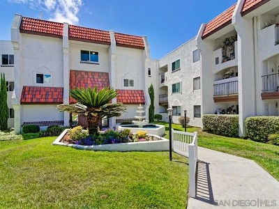 San Diego Condo/Townhouse For Sale: 6350 Genesee #211