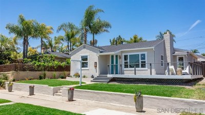 San Diego Single Family Home For Sale: 1512 Law St.