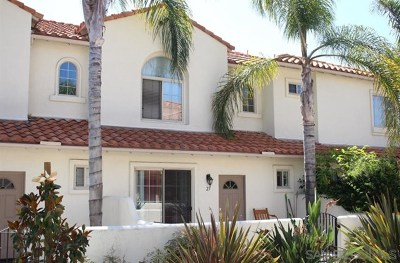 Oceanside Condo/Townhouse For Sale: 4022 Craven Rd. #23