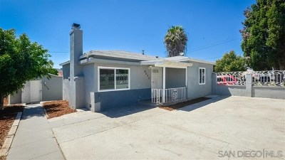 San Diego CA Multi Family Home For Sale: $899,900