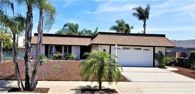 Escondido Single Family Home For Sale: 2151 Holly Ave