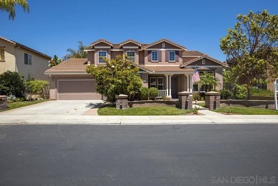 Escondido Single Family Home For Sale: 2438 Pine Valley Gln