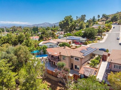 Poway Single Family Home For Sale: 12610 Pedriza Dr