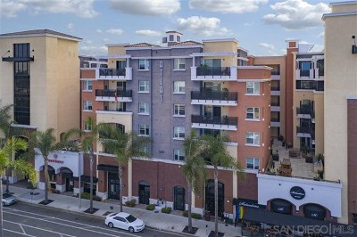 San Diego Condo/Townhouse For Sale: 3650 5th Ave #210