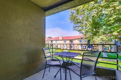 San Diego Condo/Townhouse For Sale: 7505 Charmant Dr #1608
