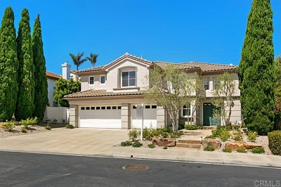 Carlsbad Single Family Home For Sale: 7410 Melodia Terrace