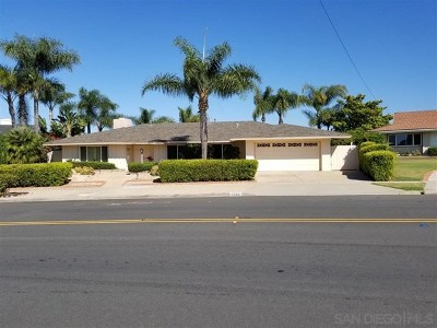 San Diego Single Family Home For Sale: 6466 Lake Shore Drive