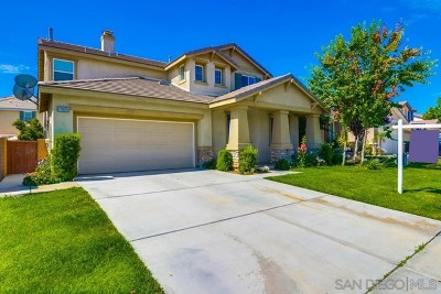 Murrieta Single Family Home For Sale: 29889 Circinus Street