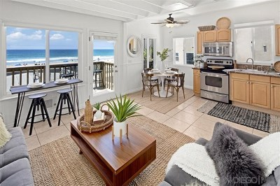 San Diego Condo/Townhouse For Sale: 3775 Ocean Front Walk