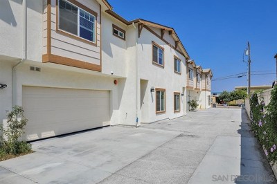 Imperial Beach Multi Family Home For Sale: 1325 Holly Avenue