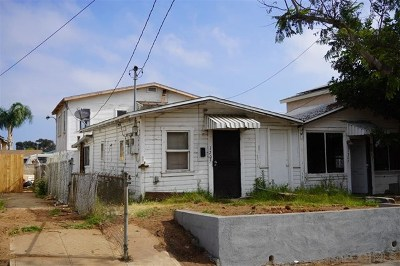 National City Multi Family Home For Sale: 1205 E 18th St