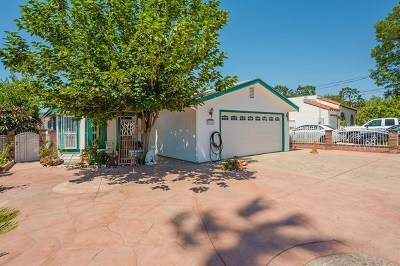 Lemon Grove Single Family Home For Sale: 8248 Golden Ave