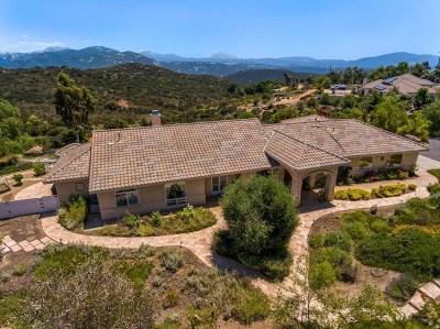 Alpine Single Family Home For Sale: 2155 Corte Plata Espuela