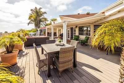 Solana Beach Single Family Home For Sale: 335 Hilmen Dr