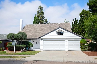 La Mesa Single Family Home For Sale: 6146 Baltimore