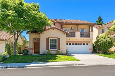 Carlsbad Single Family Home For Sale: 6077 Paseo Carreta
