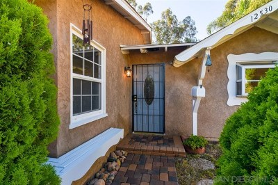 Poway Single Family Home For Sale: 12530 Glenoak Rd.