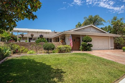Carlsbad Single Family Home For Sale: 7723 Anillo Way