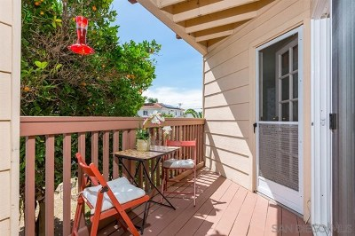 Imperial Beach Condo/Townhouse For Sale: 263 Dahlia Ave #5