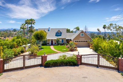 Vista Single Family Home For Sale: 746 Sunrise Dr E