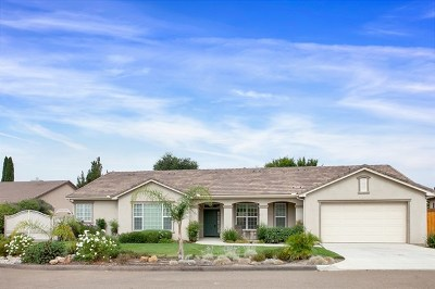 Fallbrook Single Family Home For Sale: 147 Kaden Ct