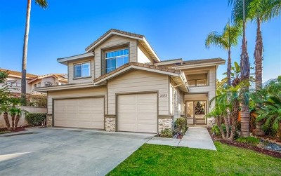 Escondido Single Family Home For Sale: 2375 Rock View Gln