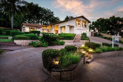 Escondido Single Family Home For Sale: 3136 Bernardo Ln