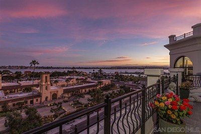 San Diego Condo/Townhouse For Sale: 700 W Harbor Dr #804