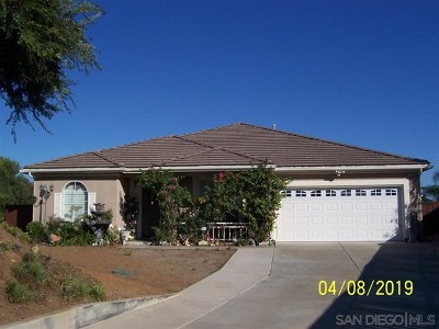 Escondido Single Family Home For Sale: 1134 Sunset Heights Rd